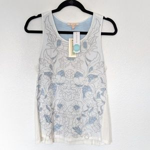 Skies Are Blue Stitch Fix Embroidered Lace Small